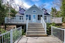 Six Mile Lake Waterfront Cottage for sale:  3 bedroom 1,289 sq.ft. (Listed 2017-10-28)